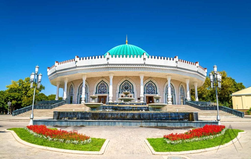 The Amir Timur museum in Tashkent