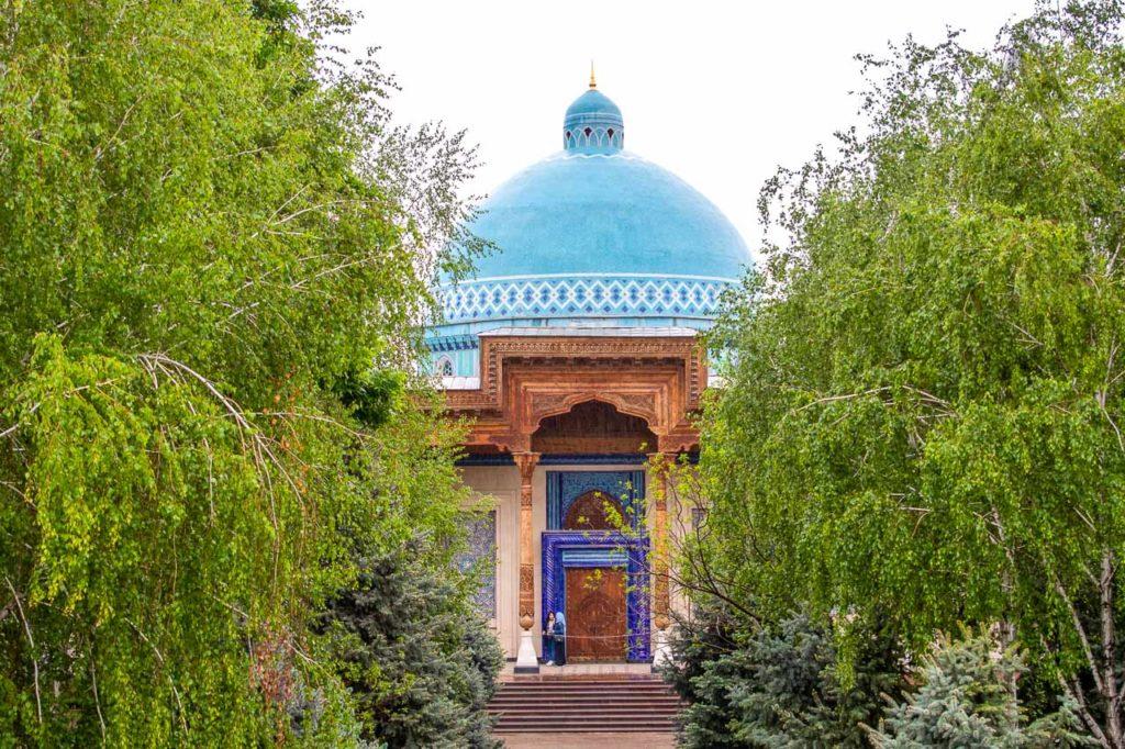 Museum of repression in the park in Tashkent
