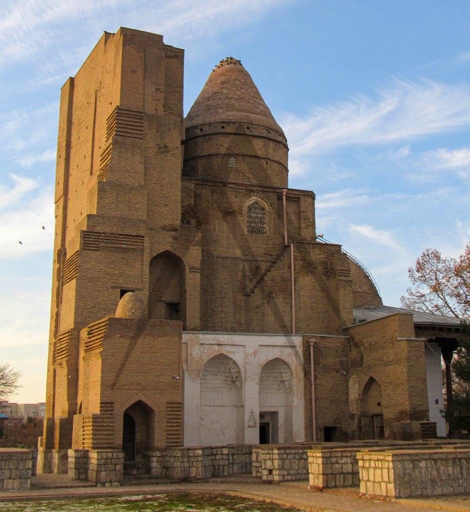 Dorus Saodat ruins in Shahrisabz, Uzbekistan