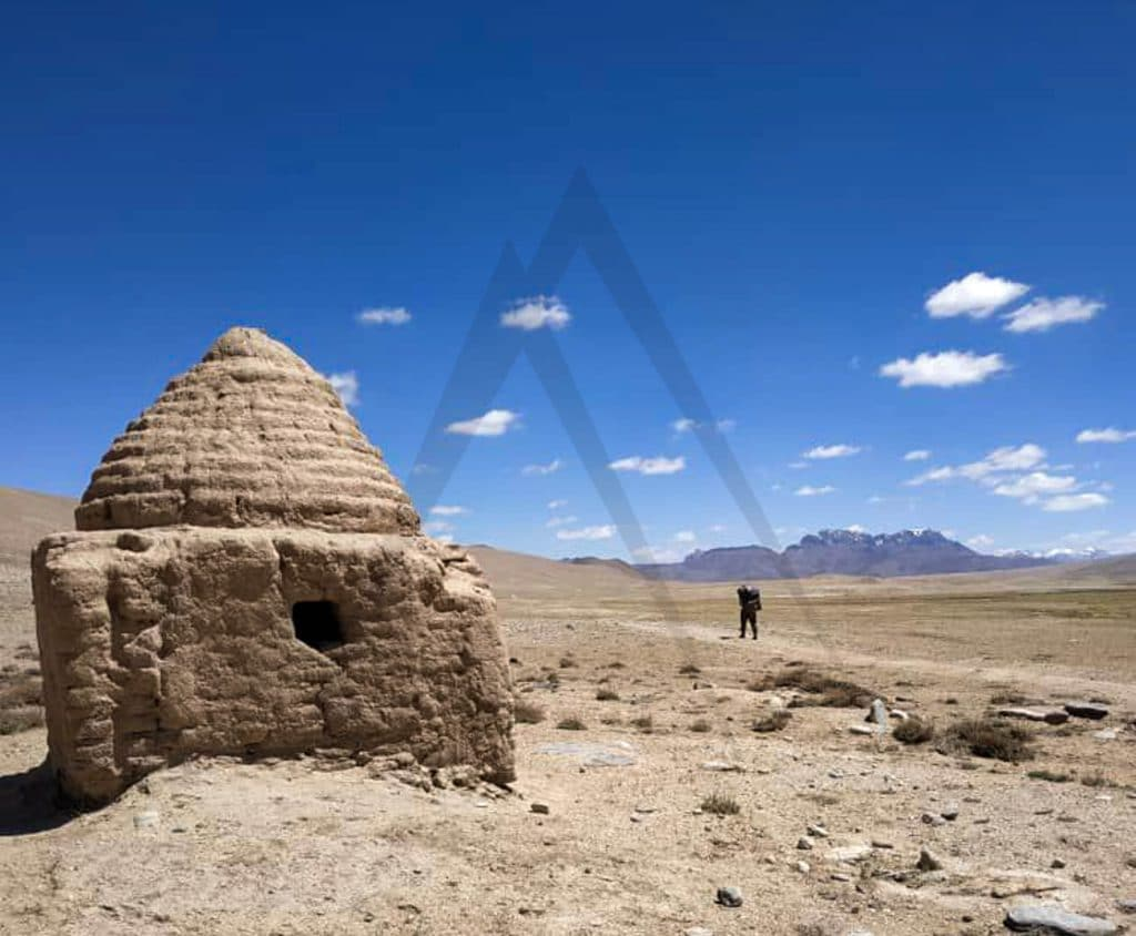 Ancient ruins in Pamir