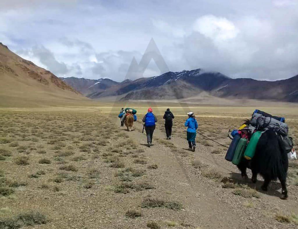 Tourist in Pamir