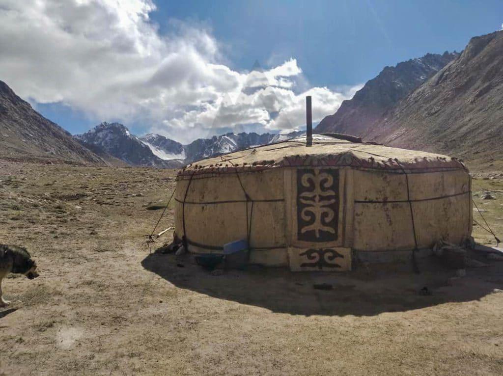Yurt in Pamir