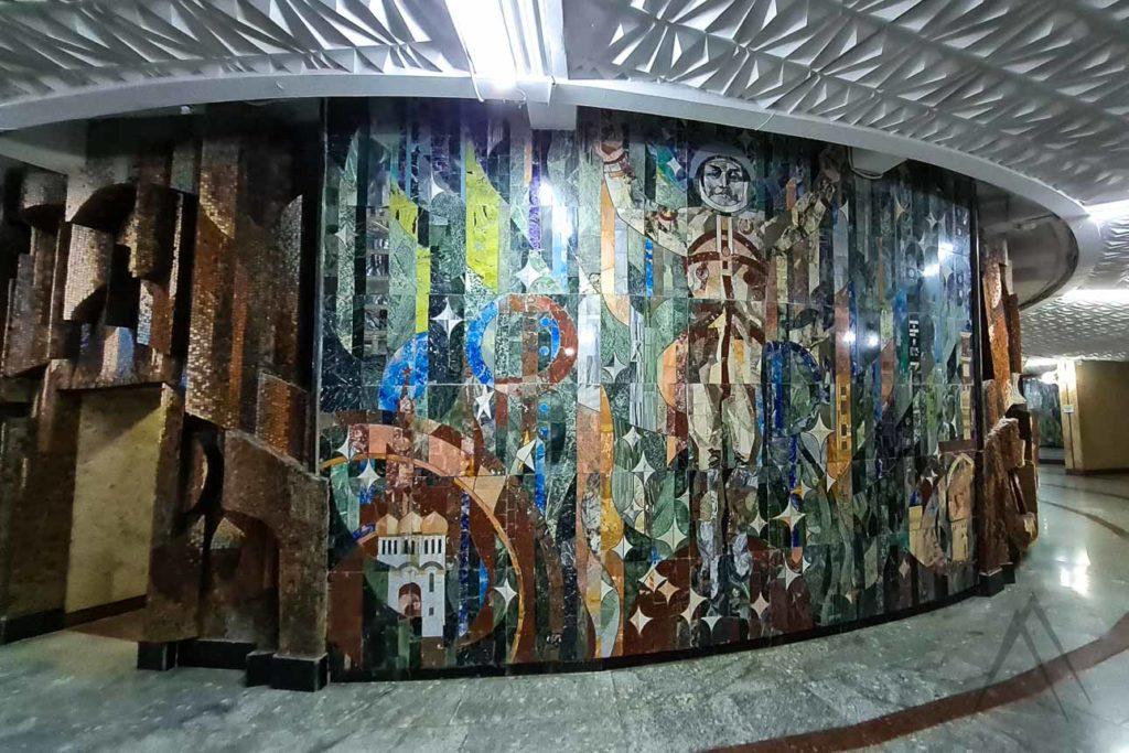 tv tower murals