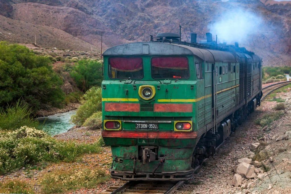 Train to Issyk Kul