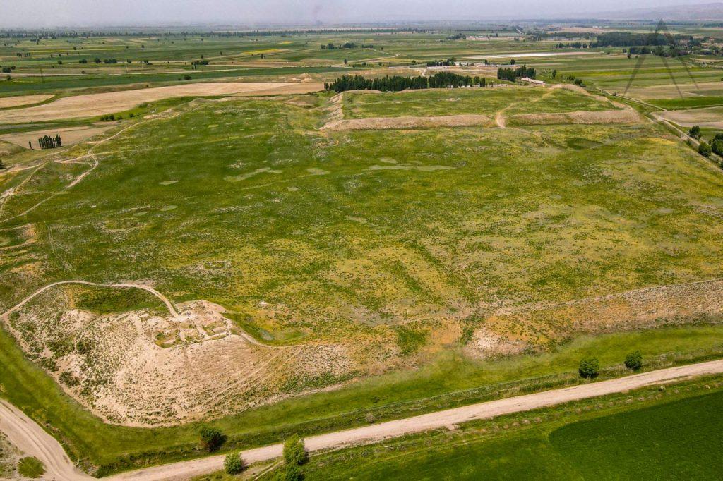 Medieval city of Navekat near Bishkek in Kyrgyzstan