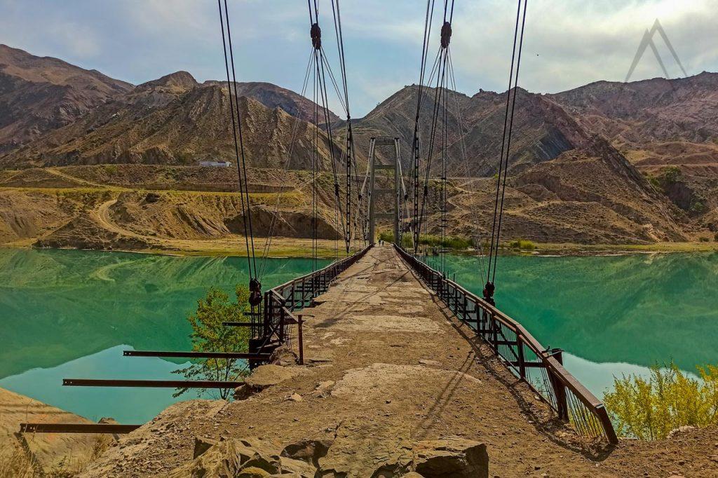 Tashkomur old coal mining town, dark tourism in Kyrgyzstan