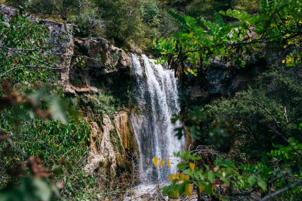 Small waterfall in Arslanbob