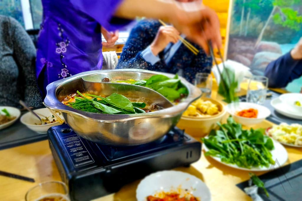 Dungan cuisine reminds Chinese cuisine