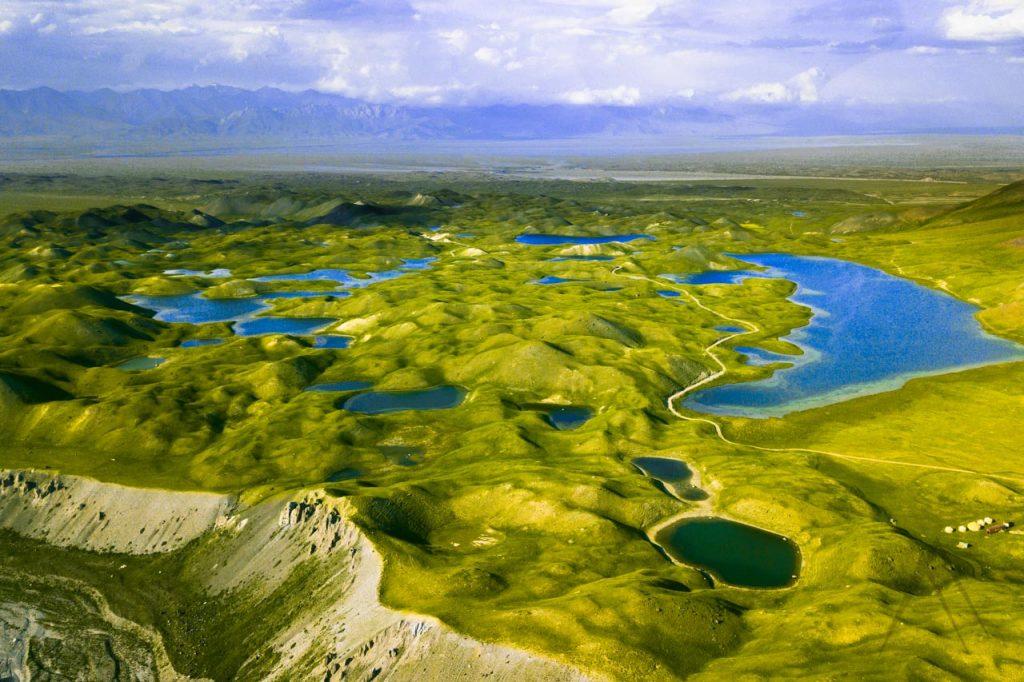 Tulpar Kol lakes in Alay valley, Kyrgyzstan