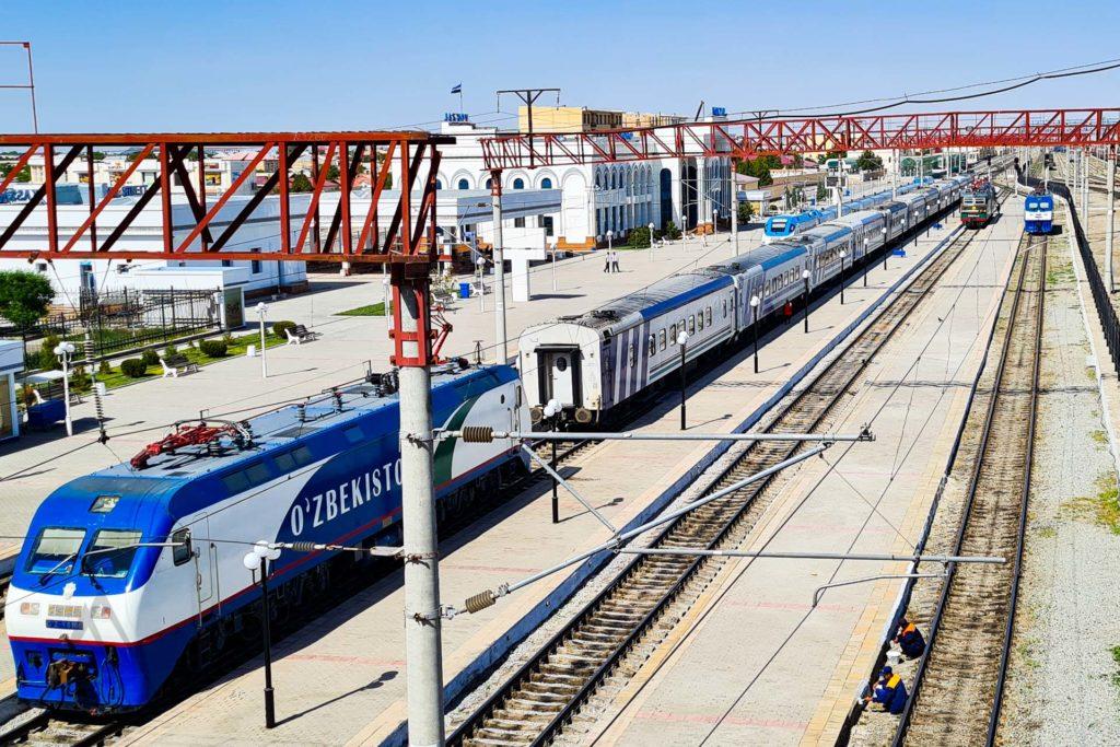 Bukhara train station