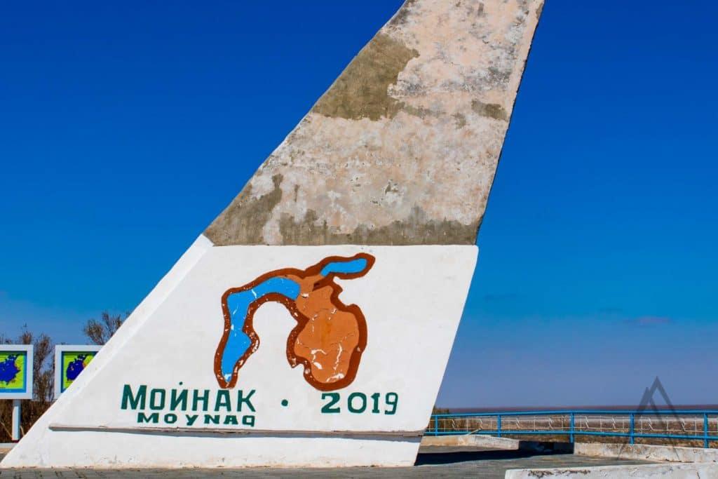 Moynaq is a city in northern Karakalpakstan in western Uzbekistan. Formerly a sea port.